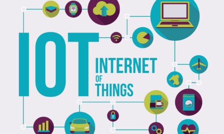 Internet of things vector illustration connected devices