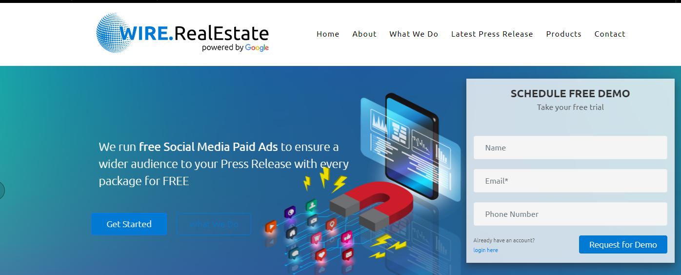 Real Estate Press Release Marketing
