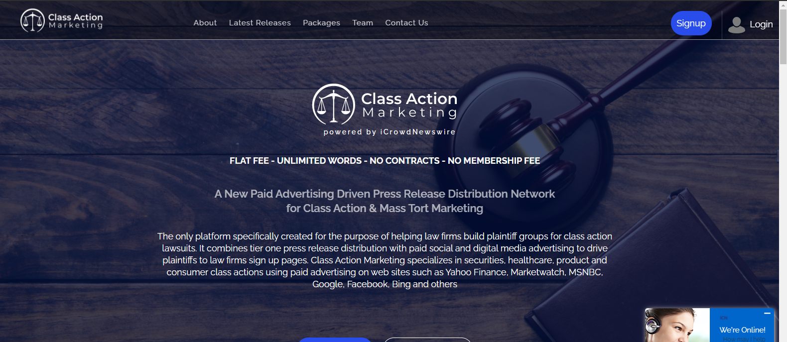 class action marketing