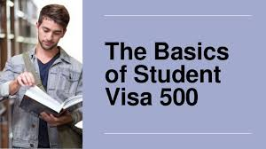 An introduction to the student visa 500-click42