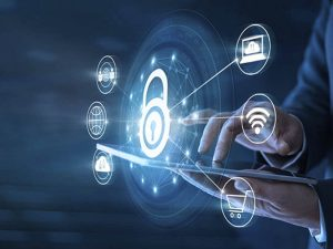 The physical security review primarily focuses on IT-click42