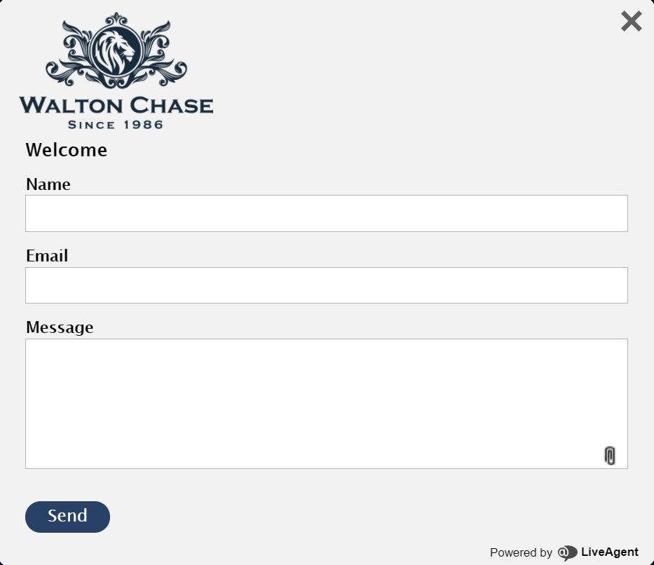 WaltonChase contact form - click42