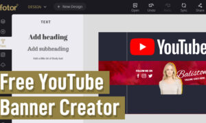 YouTube Banner Creator