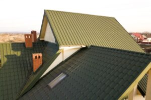 new metal roof - tut roofing