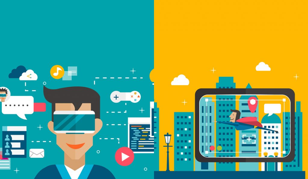 Virtual Reality and Augmented Reality-click42