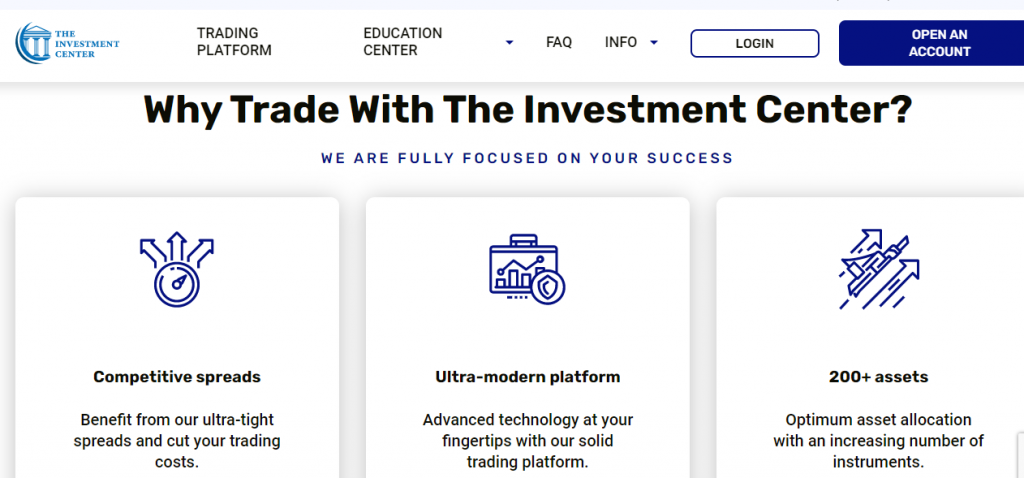 Ultra-modern design - The Investment Center Review - click42