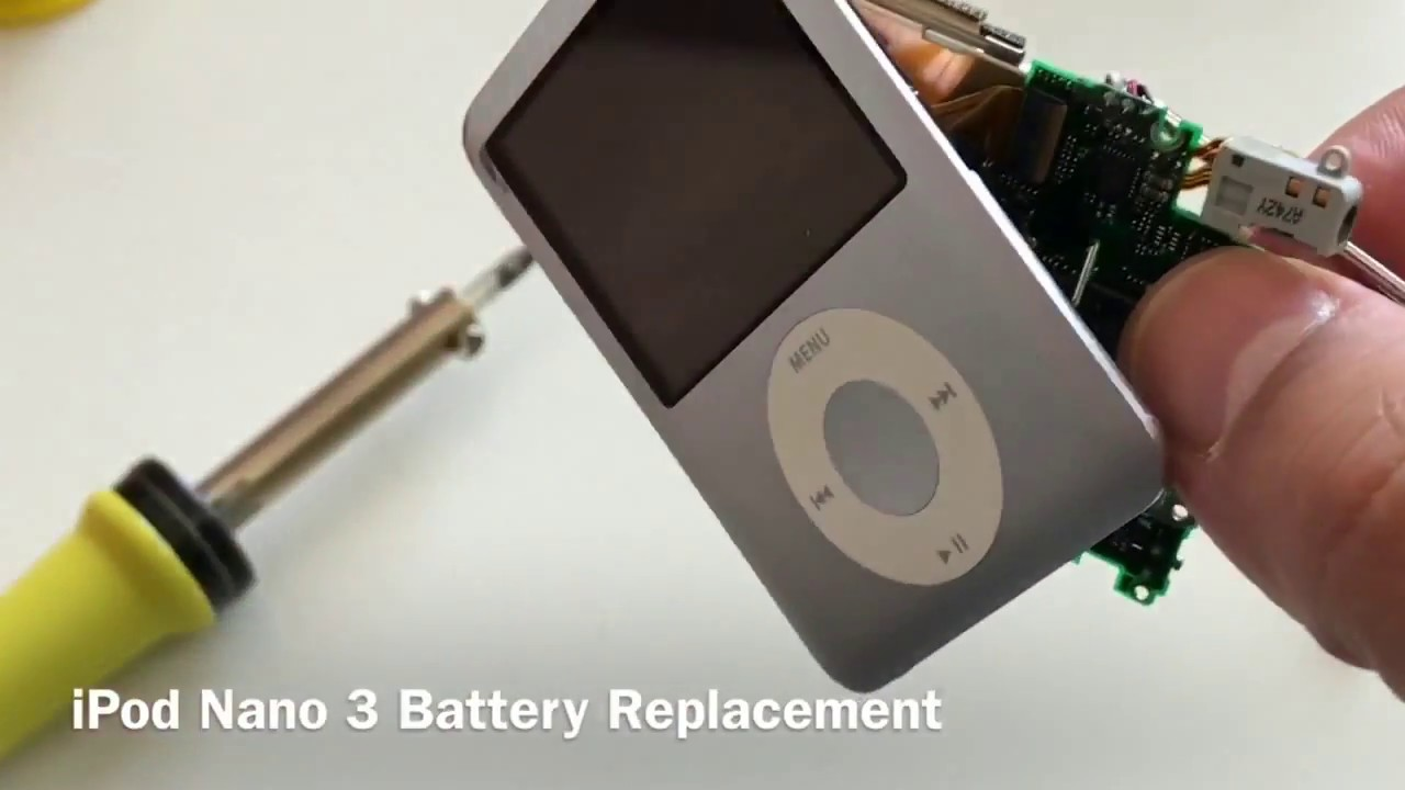 A DIY Guide to Change Your iPod Classic's Battery-click42