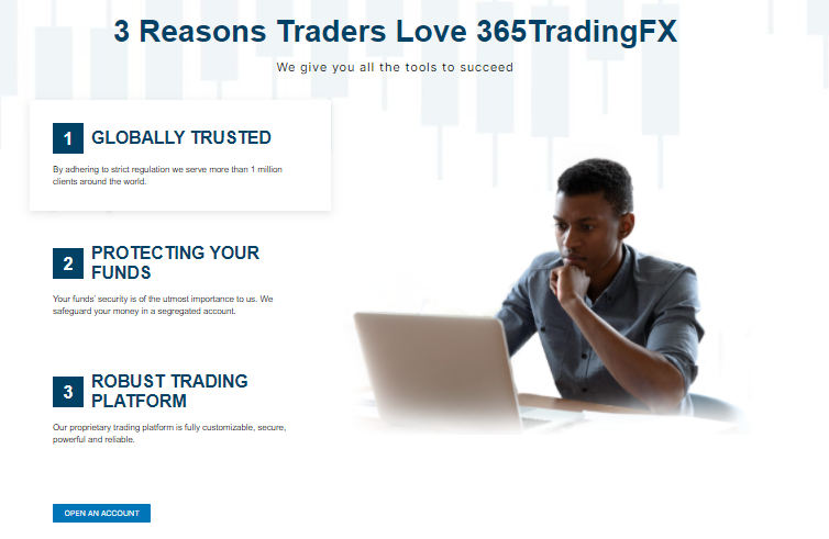 Client Support Network - 365TradingFX Review 2021 - Click42
