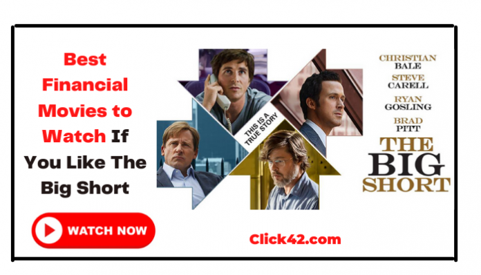 8 Financial Movies to Watch if You Like The Big Short