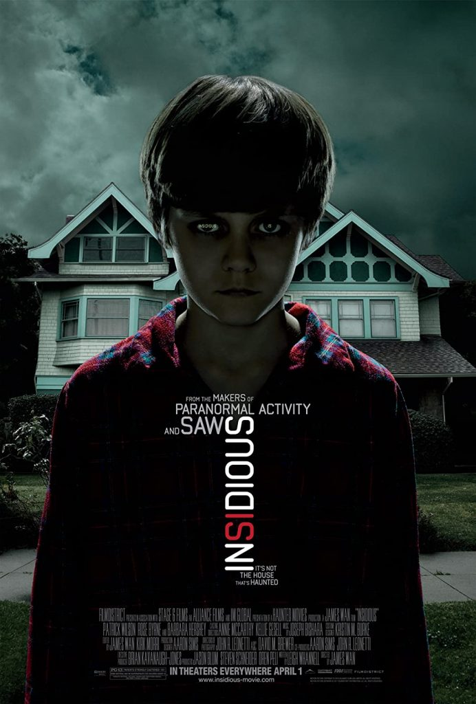 Insidious - Movies Like The Conjuring - Click42